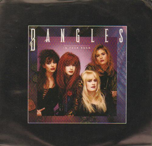 "The Bangles In Your Room 7"" vinyl single (7 inch record) Canadian BGL07IN676546"