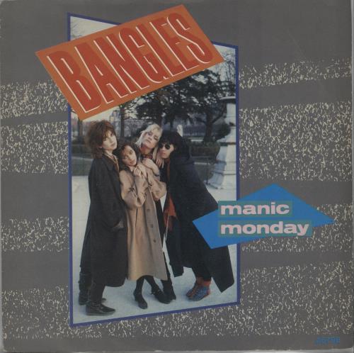 "The Bangles Manic Monday 7"" vinyl single (7 inch record) UK BGL07MA242542"