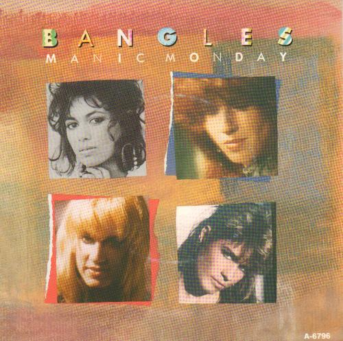 "The Bangles Manic Monday 7"" vinyl single (7 inch record) Dutch BGL07MA676665"