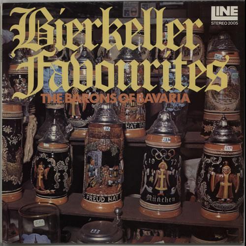 The Barons Of Bavaria Bierkeller Favourites vinyl LP album (LP record) UK XQ5LPBI641561