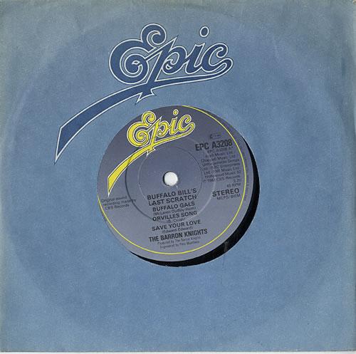 "The Barron Knights Buffalo Bill's Last Scratch 7"" vinyl single (7 inch record) UK KN807BU610215"