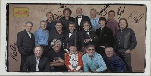 The Barron Knights Call Up The Groups - Fully Autographed tour programme UK KN8TRCA579908