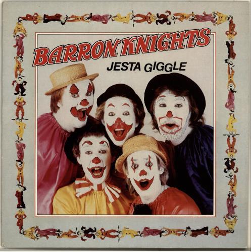 The Barron Knights Jesta Giggle vinyl LP album (LP record) UK KN8LPJE686615