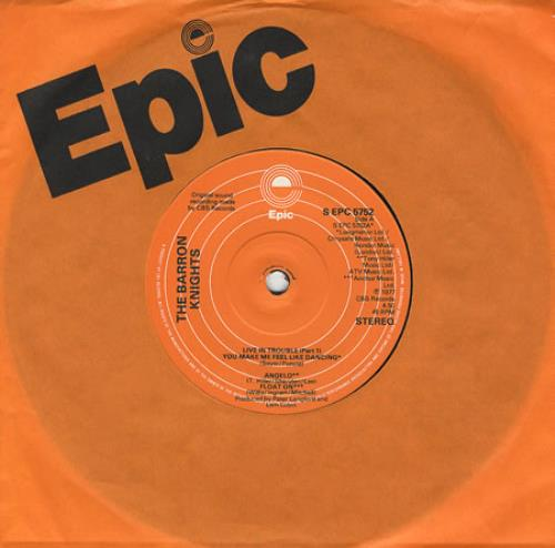 "The Barron Knights Live In Trouble EP 7"" vinyl single (7 inch record) UK KN807LI303837"
