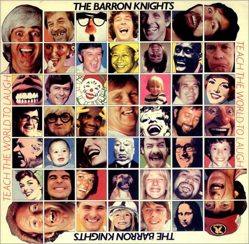 The Barron Knights Teach The World To Laugh vinyl LP album (LP record) UK KN8LPTE455022