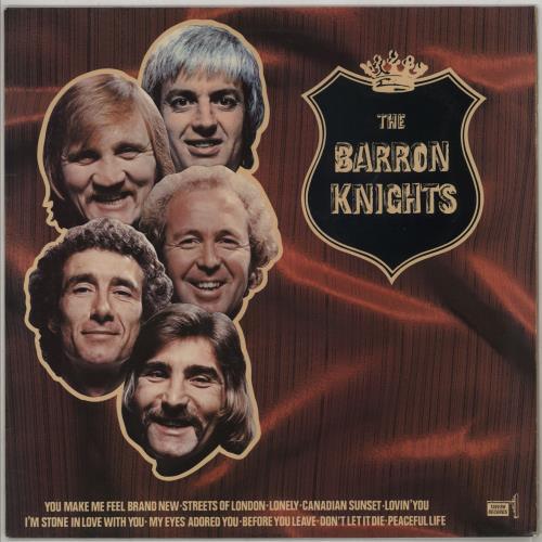 The Barron Knights The Barron Knights - Autographed vinyl LP album (LP record) UK KN8LPTH750011