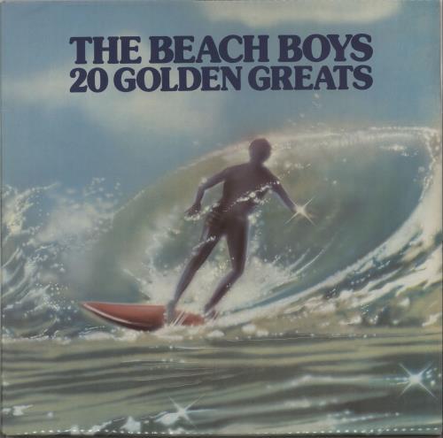 The Beach Boys 20 Golden Greats vinyl LP album (LP record) UK BBOLPGO235532