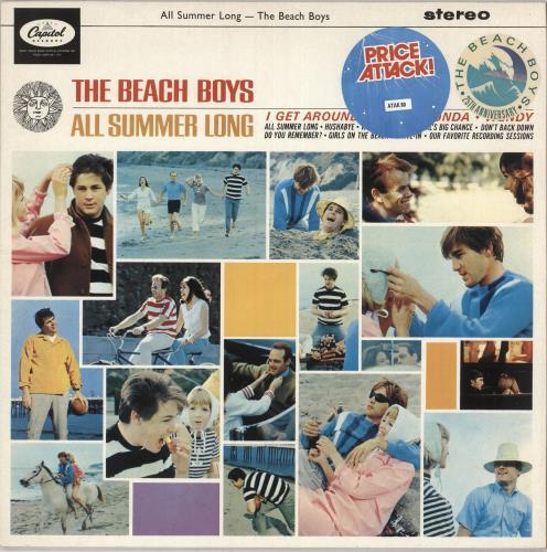 The Beach Boys All Summer Long vinyl LP album (LP record) UK BBOLPAL388825