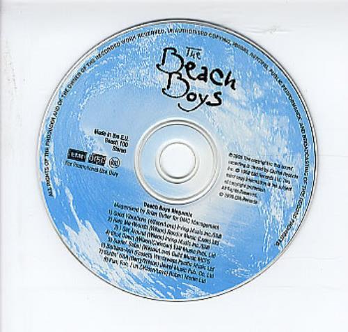 "The Beach Boys Beach Boys Megamix CD single (CD5 / 5"") UK BBOC5BE130723"