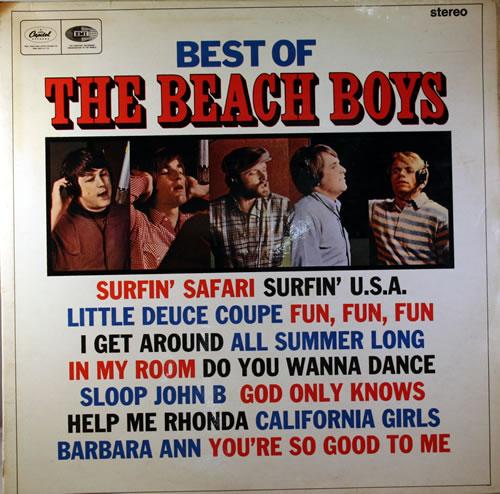 The Beach Boys Best Of The Beach Boys - 1st vinyl LP album (LP record) UK BBOLPBE228763