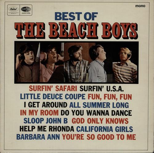 The Beach Boys Best Of The Beach Boys vinyl LP album (LP record) UK BBOLPBE70973