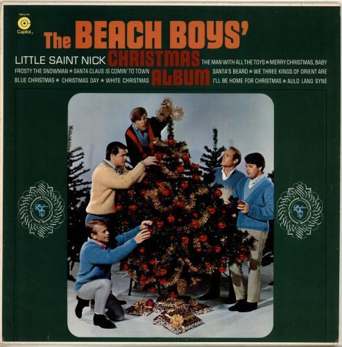 The Beach Boys Christmas Album vinyl LP album (LP record) US BBOLPCH692716