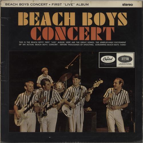 The Beach Boys Concert - EX vinyl LP album (LP record) UK BBOLPCO660418