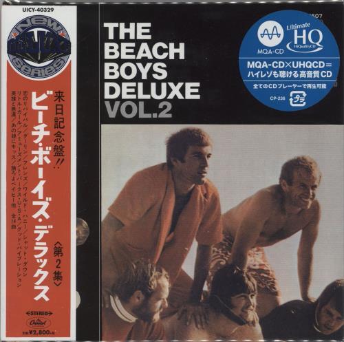 The Beach Boys Deluxe Vol.2 CD album (CDLP) Japanese BBOCDDE765215