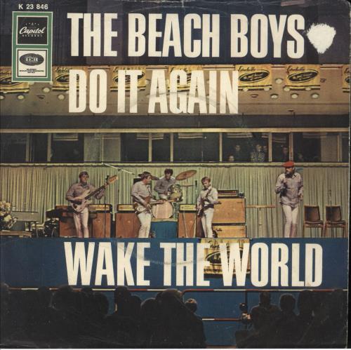"""The Beach Boys Do It Again + Sleeve - VG/EX 7"""" vinyl single (7 inch record) German BBO07DO749070"""
