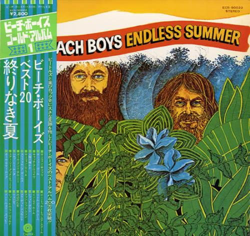 The Beach Boys Endless Summer vinyl LP album (LP record) Japanese BBOLPEN166041