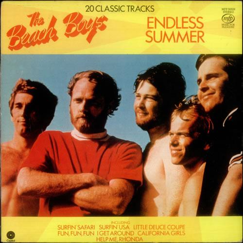 The Beach Boys Endless Summer vinyl LP album (LP record) UK BBOLPEN522068