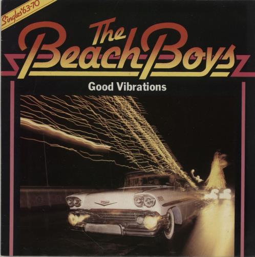 "The Beach Boys Good Vibrations - 1979 issue + Sleeve 7"" vinyl single (7 inch record) UK BBO07GO755668"