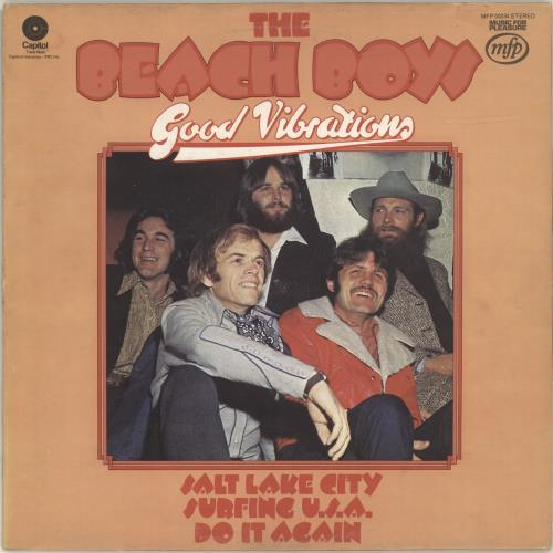 The Beach Boys Good Vibrations vinyl LP album (LP record) UK BBOLPGO382662