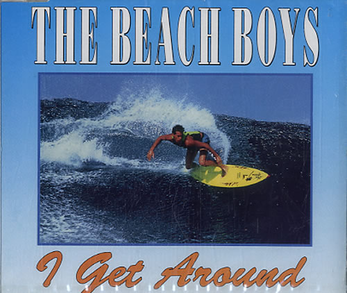 "The Beach Boys I Get Around CD single (CD5 / 5"") Dutch BBOC5IG101174"
