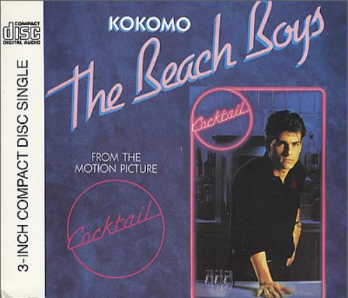 "The Beach Boys Kokomo 3"" CD single (CD3) German BBOC3KO90659"
