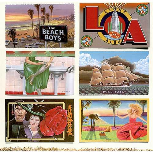 The Beach Boys L.A. (Light Album) vinyl LP album (LP record) UK BBOLPLA411189