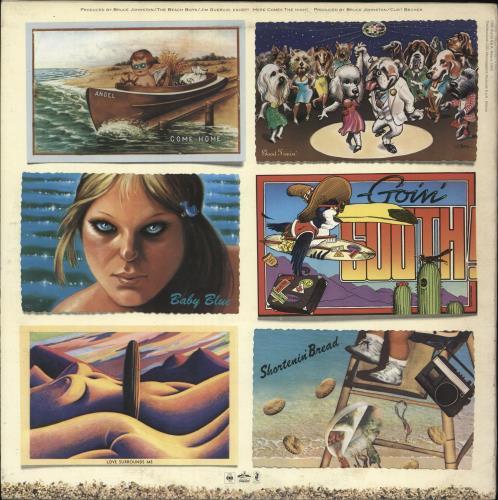 The Beach Boys L.A. (Light Album) vinyl LP album (LP record) Italian BBOLPLA722670