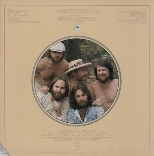 The Beach Boys M.I.U. Album vinyl LP album (LP record) US BBOLPMI362583