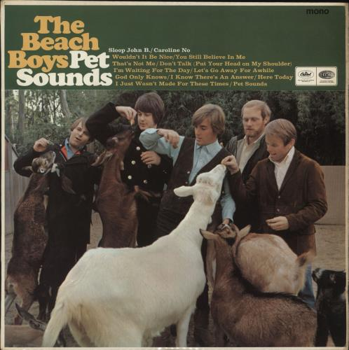 The Beach Boys Pet Sounds - 1st vinyl LP album (LP record) UK BBOLPPE580837