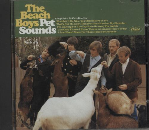 The Beach Boys Pet Sounds CD album (CDLP) UK BBOCDPE593530