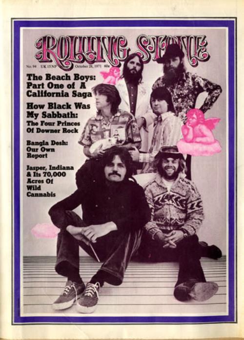 The Beach Boys Rolling Stone Issue 94 - 1971 magazine US BBOMARO558375