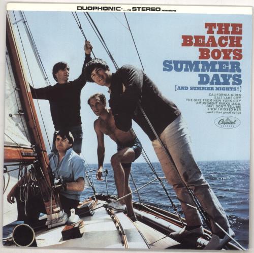 The Beach Boys Summer Days (And Summer Nights!!) vinyl LP album (LP record) US BBOLPSU733540