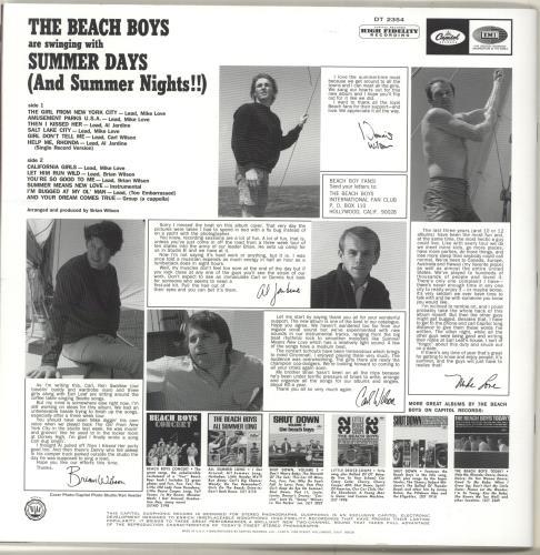 The Beach Boys Summer Days - 2015 Official Tour Program - Autographed tour programme UK BBOTRSU704333