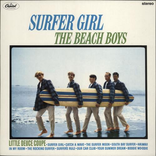 The Beach Boys Surfer Girl vinyl LP album (LP record) UK BBOLPSU229287
