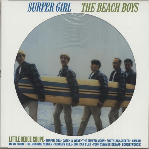 The Beach Boys Surfer Girl picture disc LP (vinyl picture disc album) Russian BBOPDSU688416