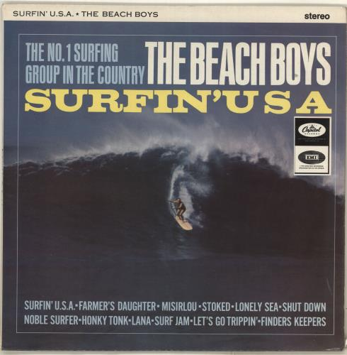 Details About Beach Boys Surfin U S A Uk Vinyl Lp Album Record St1890 Capitol 1965