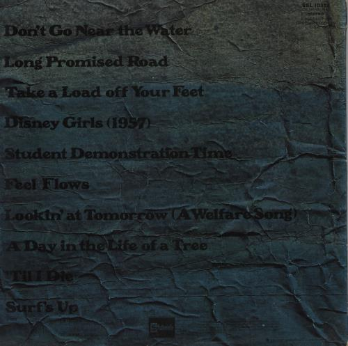 The Beach Boys Surf's Up - 1st vinyl LP album (LP record) UK BBOLPSU755456