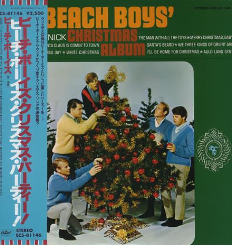 Beach Boys Christmas.The Beach Boys The Beach Boys Christmas Album Japanese