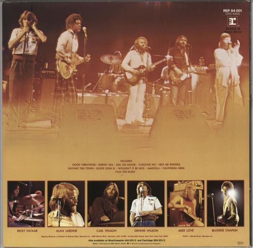 The Beach Boys The Beach Boys In Concert 2-LP vinyl record set (Double Album) German BBO2LTH724762