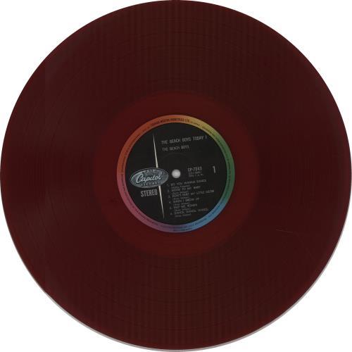 The Beach Boys The Beach Boys Today! vinyl LP album (LP record) Japanese BBOLPTH673088
