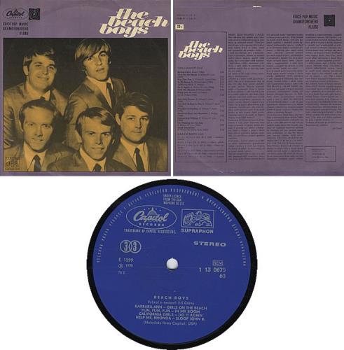 The Beach Boys The Beach Boys vinyl LP album (LP record) Czech BBOLPTH326033