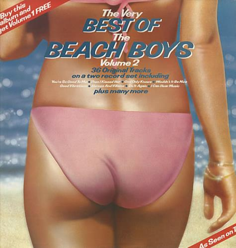 The Beach Boys The Very Best Of The Beach Boys 2-LP vinyl record set (Double Album) UK BBO2LTH328145