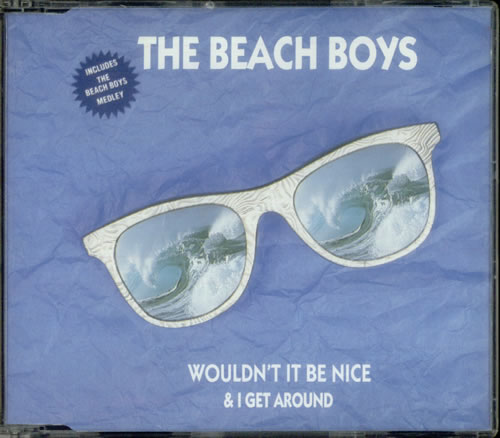The Beach Boys Wouldn't It Be Nice UK CD Single (CD5 / 5