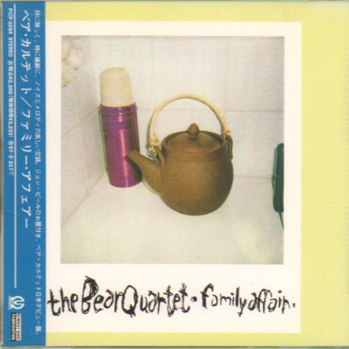 The Bear Quartet Family Affair CD album (CDLP) Japanese XRUCDFA643536