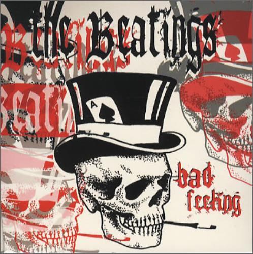 "The Beatings Bad Feeling CD single (CD5 / 5"") UK T/BC5BA247241"