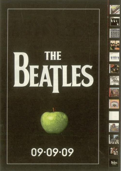 The Beatles 09.09.09 - Remasters handbill Japanese BTLHBRE501025