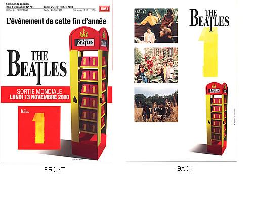 The Beatles 1 - Telephone Box handbill French BTLHBTE192461
