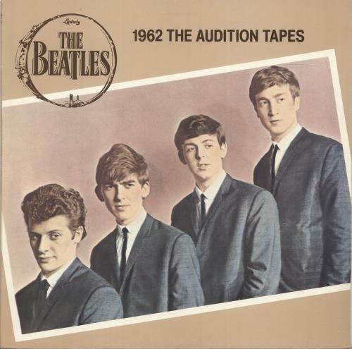 The Beatles 1962 The Audition Tapes vinyl LP album (LP record) UK BTLLPTH519570
