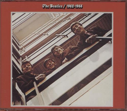 The Beatles 1962-1966 [The Red Album] 2 CD album set (Double CD) UK BTL2CTH230159