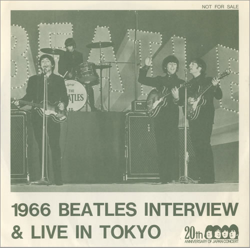 The Beatles 1966 Beatles Interview Amp Live In Tokyo
